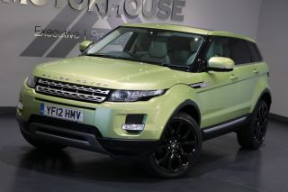 Used LAND ROVER RANGE ROVER EVOQUE in Bridgend Mid Glamorgan for sale